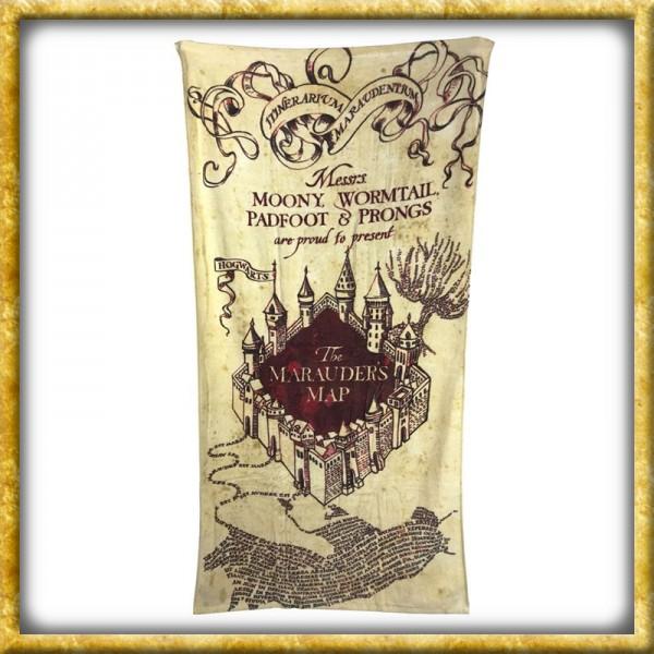 Karte Des Rumtreibers.Harry Potter Handtuch Karte Des Rumtreibers