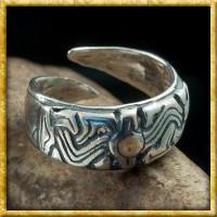 Wikinger Ring Norwegen aus Silber