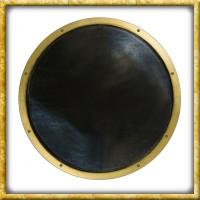 LARP Rundschild Ready for Battle - Schwarz/Gold