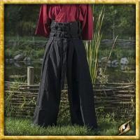 Samurai Hose - Schwarz/Grau