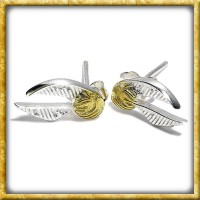 Harry Potter - Ohrringe Goldener Schnatz Sterling Silber