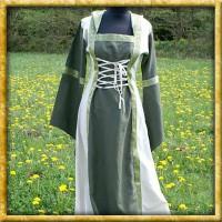 Kleid Saphiria - Grün/Natur