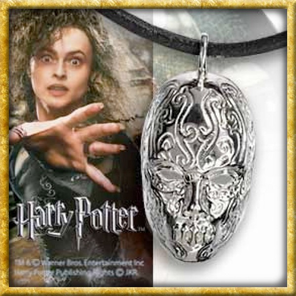 Harry Potter - Anhänger Todesser Maske Bellatrix