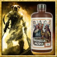 Valhalla Mjød in der Tonflasche