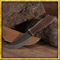 Mittelalterliches Jagdmesser mit Griff aus Shishamholz