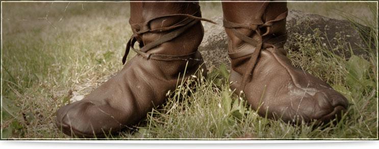 Mittelalter Schnürschuhe & Stiefel | Drachenhort