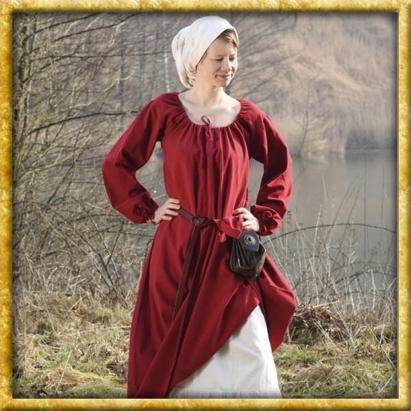Mittelalterkleid Ana - Rot