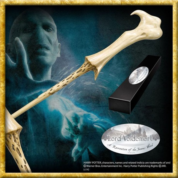 Harry Potter - Zauberstab Lord Voldemort Charakteredition