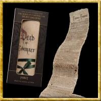 Der Hobbit - Mini Replik Bilbos Vertrag