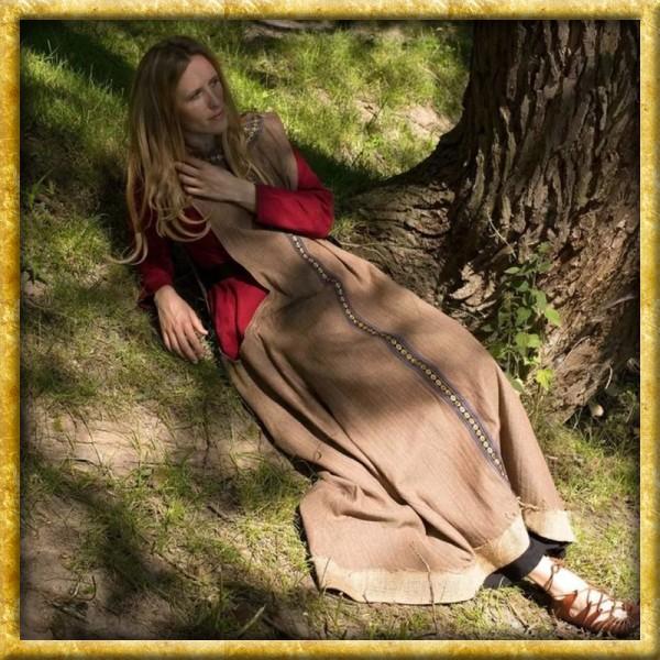 Keltisches Überkleid - Braun