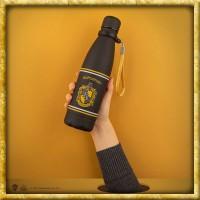 Harry Potter - Edelstahl Trinkflasche Hufflepuff