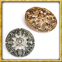 Wikinger Scheibenfibel Troendelag - Silber oder Bronze