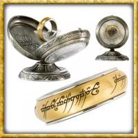 Herr der Ringe - Der Eine Ring Rotierend Gold