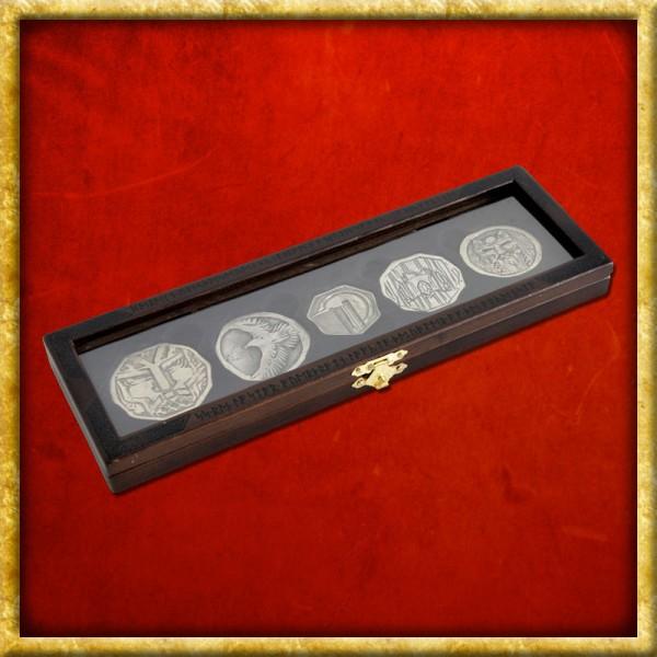 Der Hobbit - Münzen Set Zwergenschatz