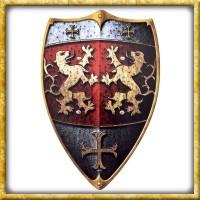 Kinder Holzschild Ritter vom Löwenfels