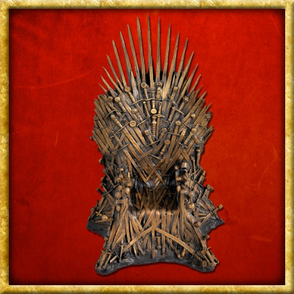 Game of Thrones - Bronze Statue Eiserner Thron