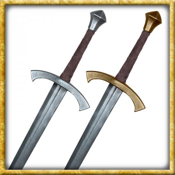 LARP Bastardschwert William - Silber oder Gold