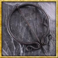 Ringfibel handgeschmiedet - Doppelt eingerollt