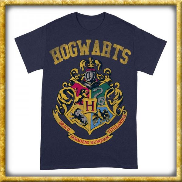Harry Potter - T-Shirt Hogwarts Wappen
