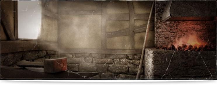 Mittelalter Schmiedestücke   Drachenhort