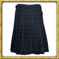 Kilt - 8 Yard Black Watch Tartan