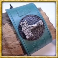 Lederarmband - Thors Hammer
