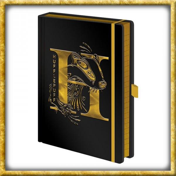 Harry Potter - Premium Notizbuch Hufflepuff