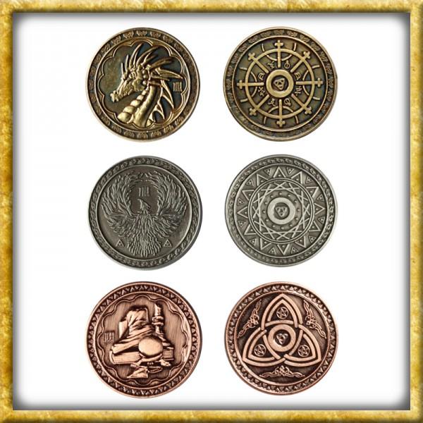 LARP Münzen Magie