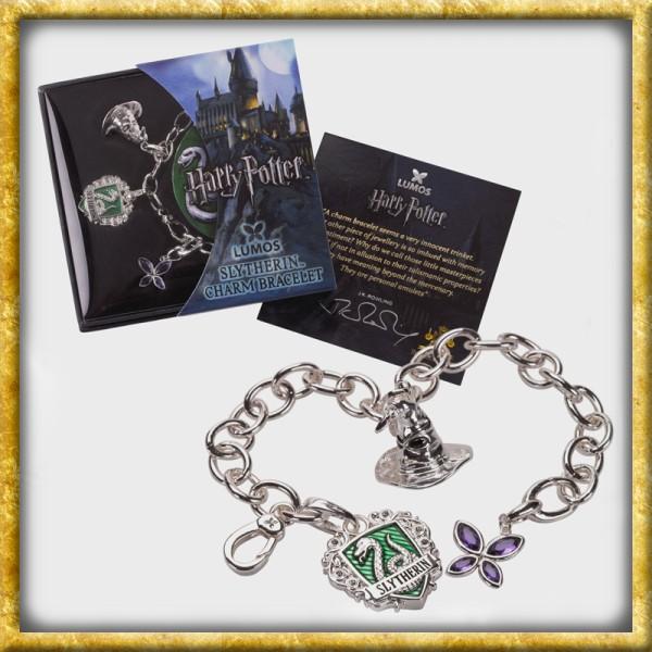 Harry Potter - Lumos Slytherin Charm Armband