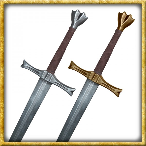LARP Bastardschwert Gerome - Silber oder Gold