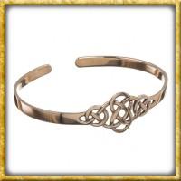 Armreif mit keltischen Knoten aus Bronze