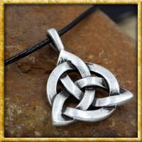 Keltischer Anhänger Knoten mit Lederband