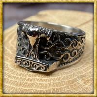 Nordischer Ring Thors Hammer