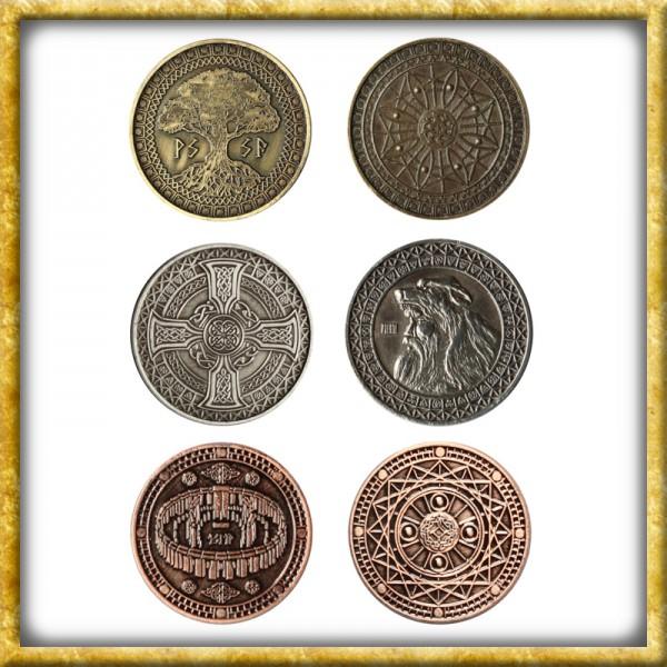 LARP Münzen Erde