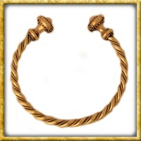 Gekordelter keltischer Armreif aus Bronze