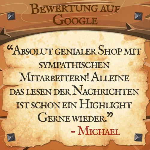 Google Bewertung Michael | Drachenhort
