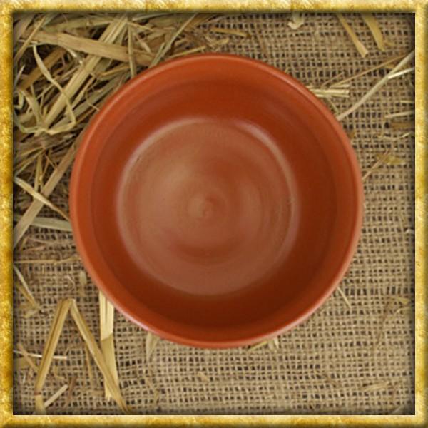 Schale aus Ton mit Kerbschnitt Terra Sigillata