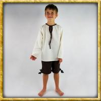 Kniebundhose für Kinder - Dunkelbraun