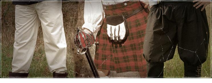 Mittelalter Hosen & Kilt für Recken   Drachenhort