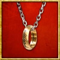 Herr der Ringe - Der Eine Ring mit Edelstahlkette
