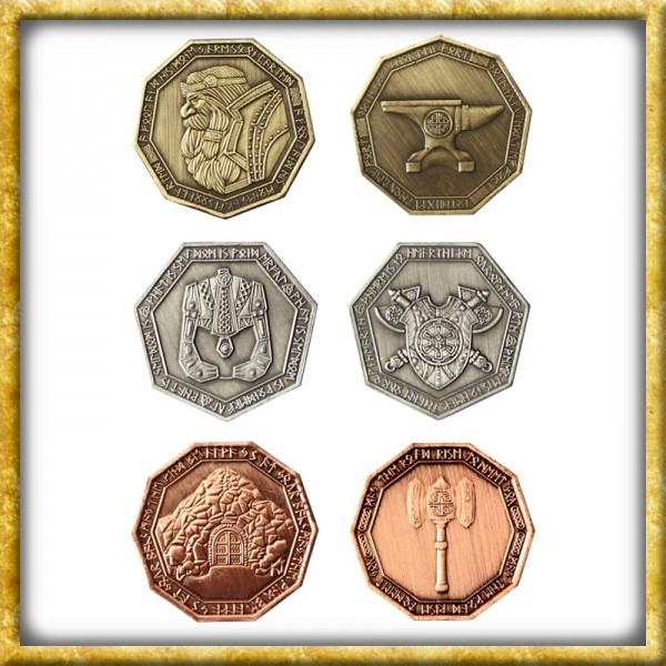 LARP Münzen Zwerge
