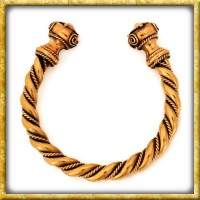Massiver Keltischer Armreif aus Bronze