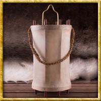 Mittelalter Laterne aus Holz und Rohhaut