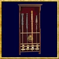 Harry Potter - Wandhalterung für 4 Zauberstäbe