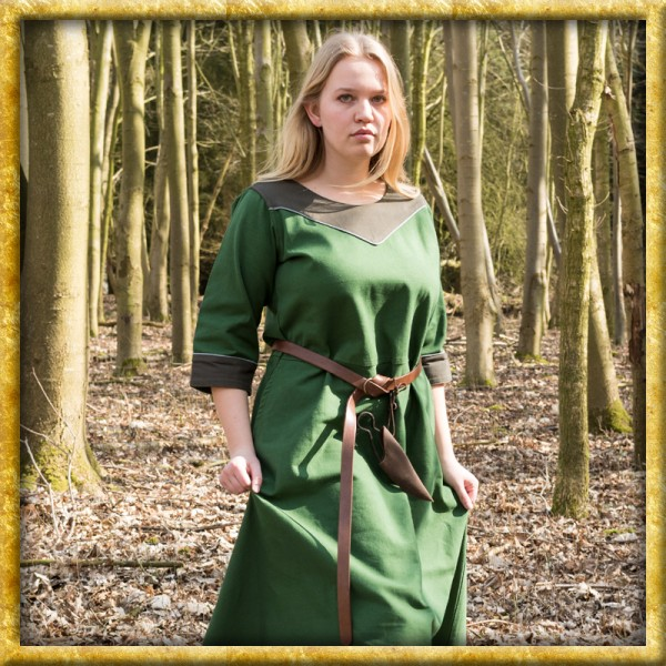 Mittelalterkleid Gesine - Grün