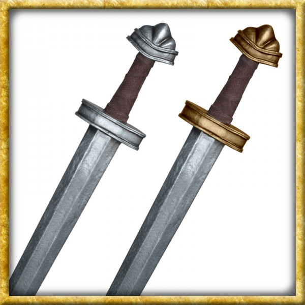 LARP Wikingerschwert Olaf - Silber oder Gold
