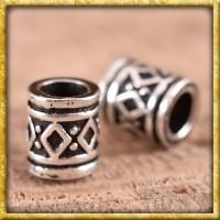 Kleine Wikinger Bartperle - Silber