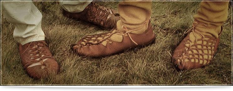 Keltische Schuhe | Drachenhort