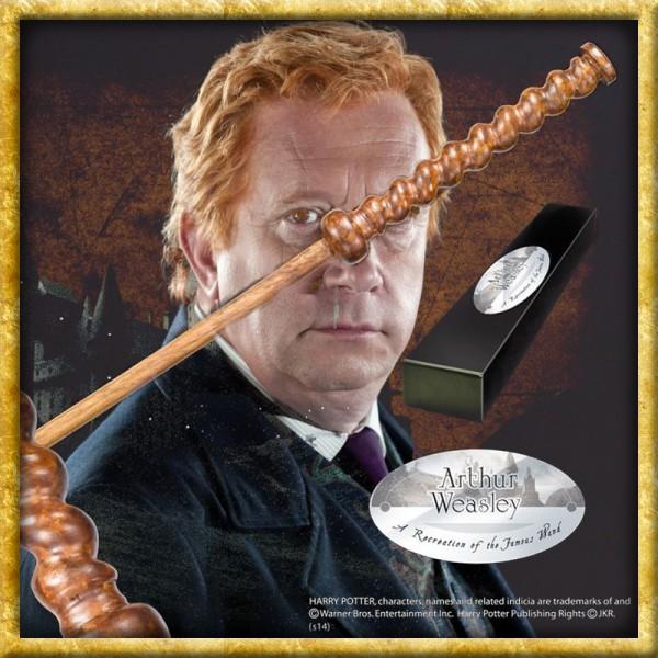 Harry Potter - Zauberstab Arthur Weasley Charakteredition