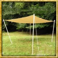 Lagerplane / Sonnensegel mit Ösen - Natur